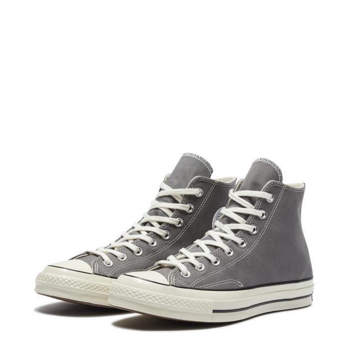 basket converse haute grise