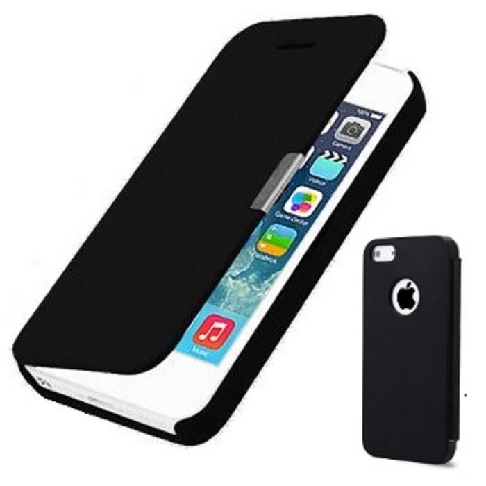 Housse coque etui magnetique pour iphone 5 5s achat for Housse iphone 5s