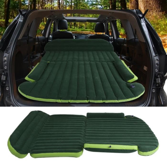 matelas voiture gonflable 2 place camping coussin avec. Black Bedroom Furniture Sets. Home Design Ideas