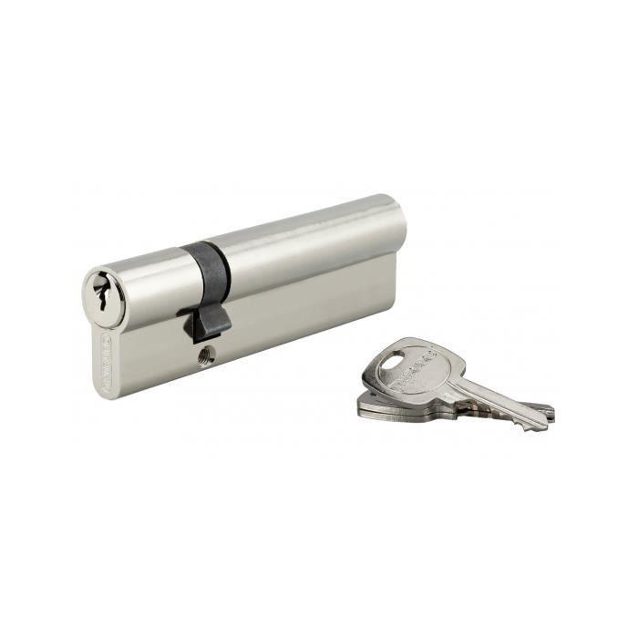 5 clés Serrure à Cylindre De Profil Cylindre 3 Cylindre De Verrouillage serrures