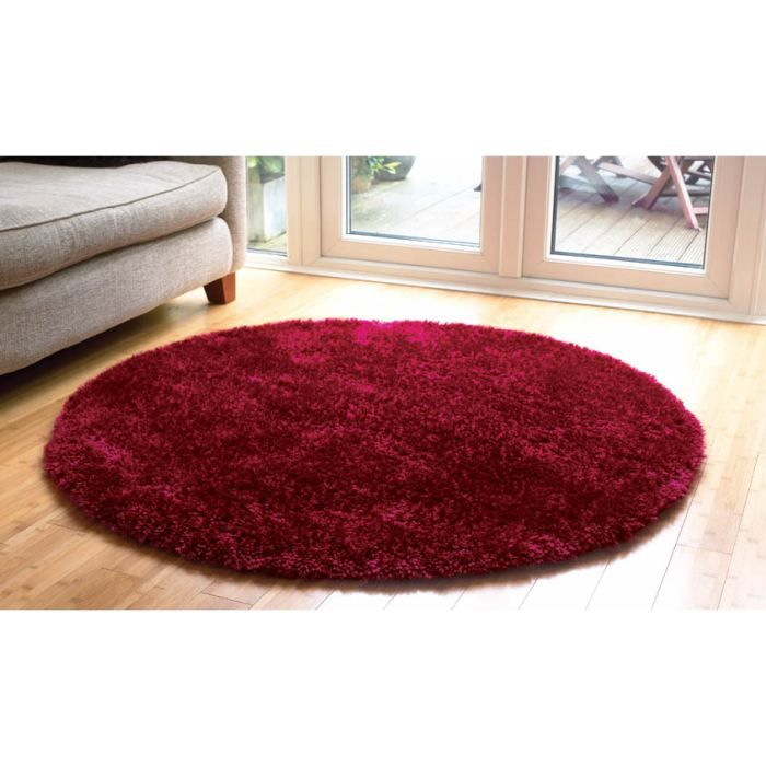 tapis spaghetti starlet raspberry cm 135 rond achat. Black Bedroom Furniture Sets. Home Design Ideas