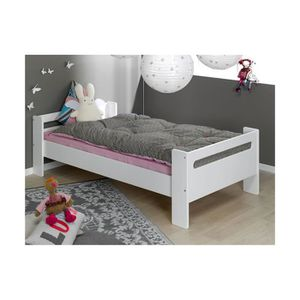 lit pour enfant fille 90 200 achat vente lit pour. Black Bedroom Furniture Sets. Home Design Ideas