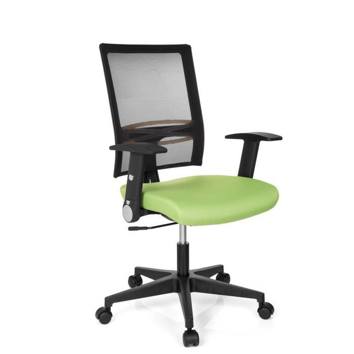 chaise de bureau si ge de bureau office r8 tissu maille vert hjh office achat vente chaise. Black Bedroom Furniture Sets. Home Design Ideas