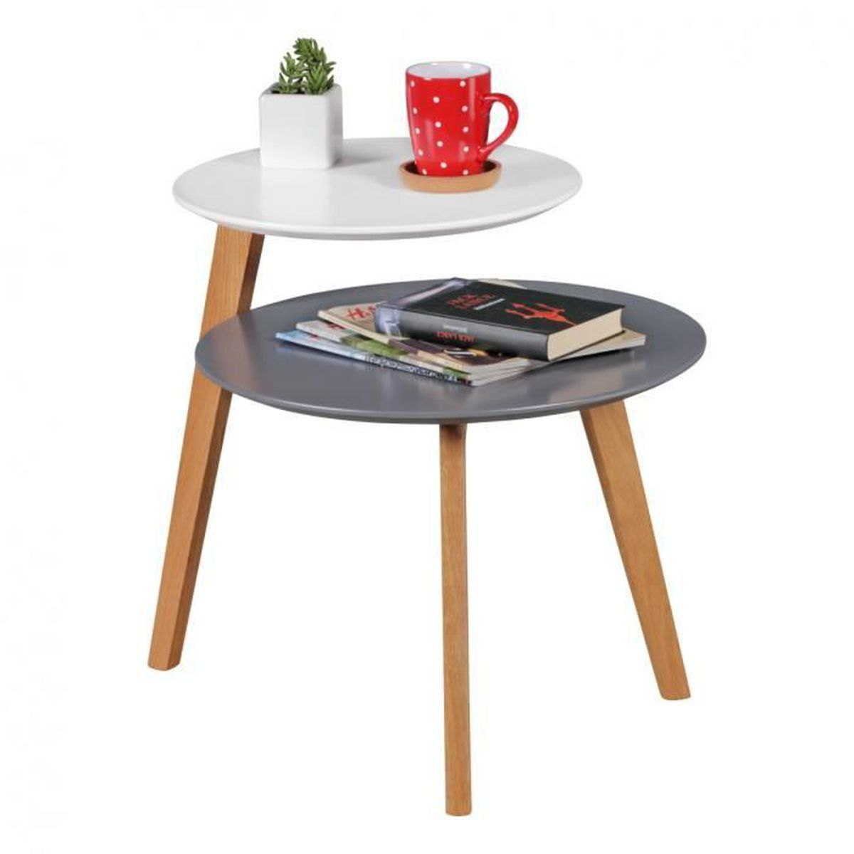 100 table basse scandinave pas cher 2 tables basses for Table basse scandinave le bon coin