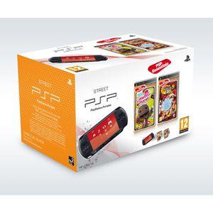 CONSOLE PSP PSP STREET + LITTLE BIG PLANET + NARUTO SHIPPUDEN
