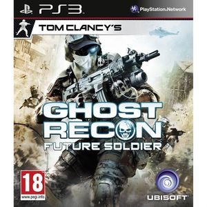 JEU PS3 GHOST RECON FUTURE SOLDIER / Jeu console PS3