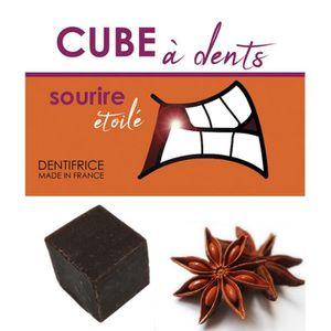DENTIFRICE Dentifrice Solide Bio à l'Anis - Fabriqué en Franc