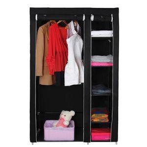 ARMOIRE DE CHAMBRE  Armoire penderie meuble de rangement dressing 110