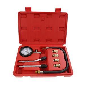 COFFRET OUTILLAGE Kit de Outil Auto Moteur Testeur Compression Press