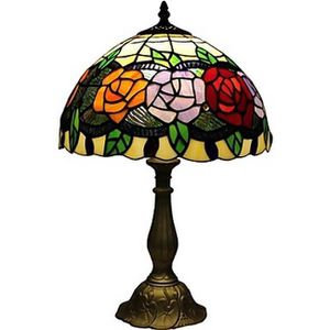 Lampe style tiffany achat vente lampe style tiffany for Lampe de chevet style africain