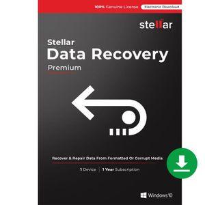 BUREAUTIQUE À TÉLÉCHARGER Stellar Data Recovery Software | for Windows | Pre