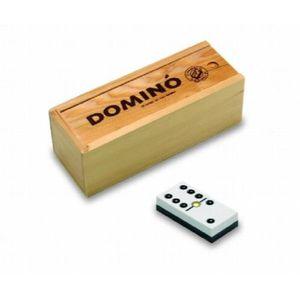 DOMINOS Cayro 241 - Jeu De Société - Dominos Boite En Bois