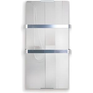 SÈCHE-SERVIETTE ÉLECT Radiateur Sèche serviette électrique 600 watts Zaf