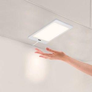 ECLAIRAGE DE MEUBLE Lampe de Panneau Lumineux à LED Sous Meuble de Cui