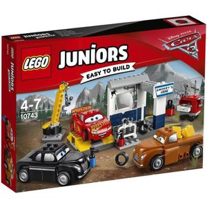 ASSEMBLAGE CONSTRUCTION LEGO® Juniors Cars 3 10743 Le Garage de Smokey