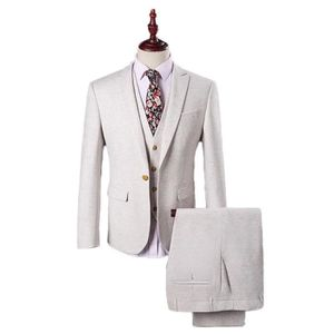 costume homme 3 pieces blanc