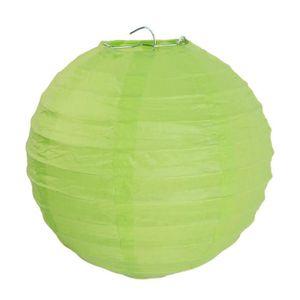 LANTERNE FANTAISIE SANTEX Lanterne Boule Papier Vert