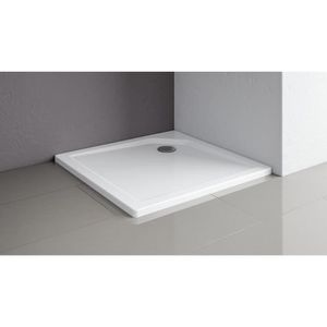 RECEVEUR DE DOUCHE Receveur de douche carré 80x80 cm, bac à douche ex