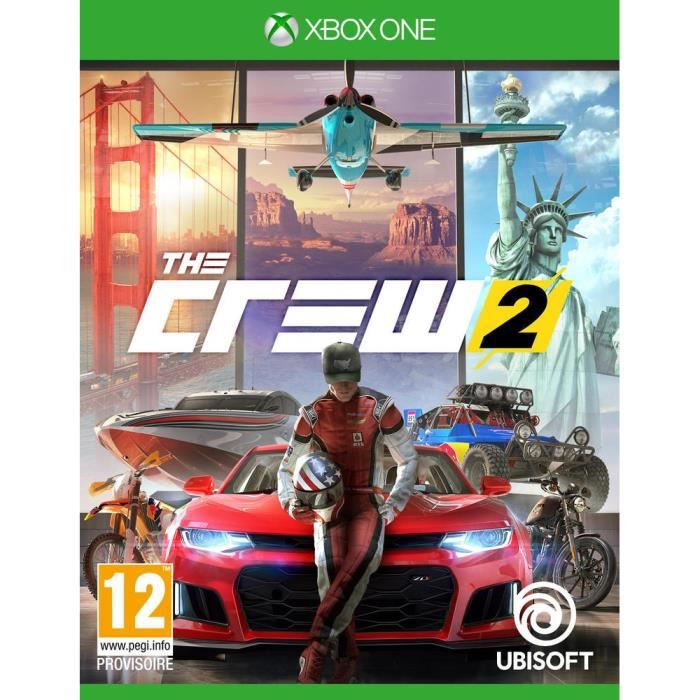 JEU XBOX ONE The Crew 2 Jeu Xbox One