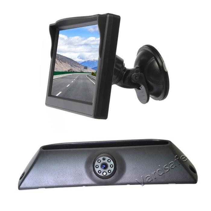 Caméra de recul & moniteur de vue arrière à ventouse pour Iveco Daily (2006-2013)