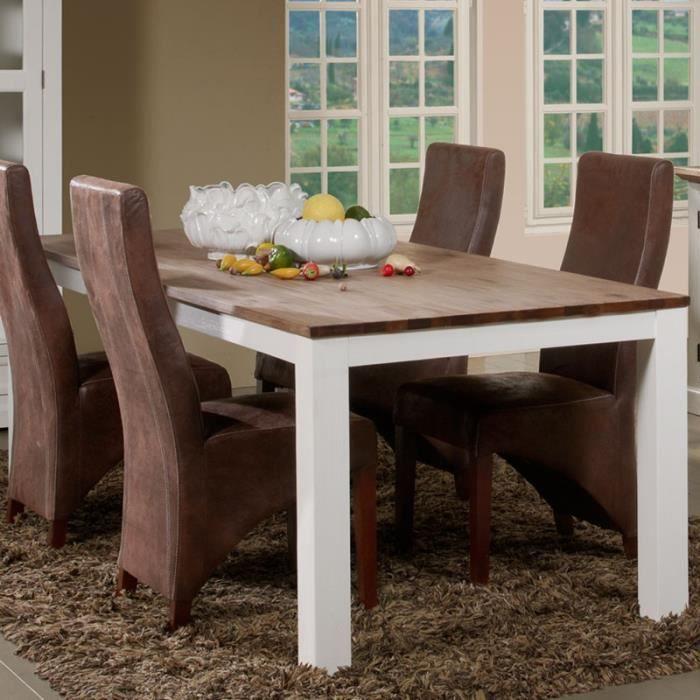 Table de repas 220 cm - RIO - L 220 x l 100 x H 78 cm