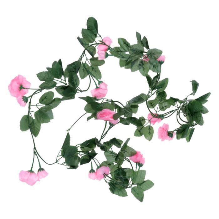 1 pc fleur vignes intérieur en plastique vigne Simulation Rose rotin canne chaise ARTIFICIAL FLOWER-PLANT - DRIED FLOWER