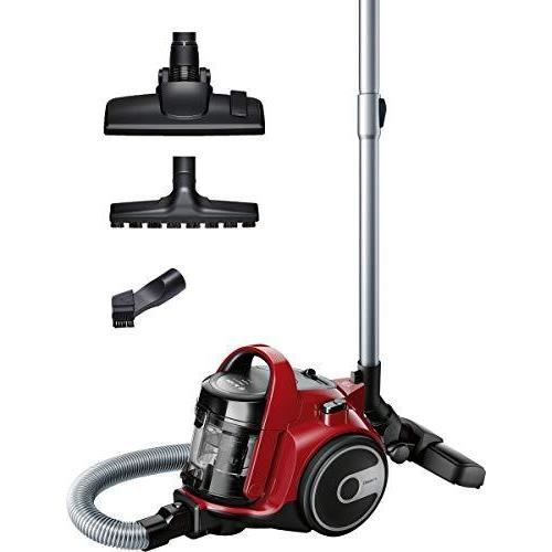 Bosch BGC05AAA2 GS05 Cleannn Aspirateur sans Sac 700 W 1,5 L Rouge/Noir