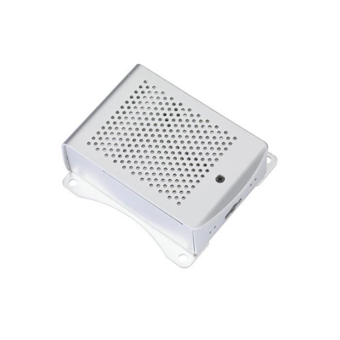 Raspberry Pi 3 Modèle B Plus Aluminium Argent Vert Noir Boîtier En Corps de dissipateur thermique de type 2-3 génération B + argent