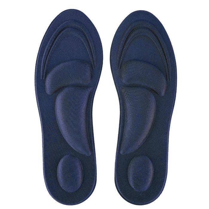 semelle de chaussure Semelles orthopédiques Pieds plats Support de voûte plantaire Semelle intérieure en mousse à mémoire de