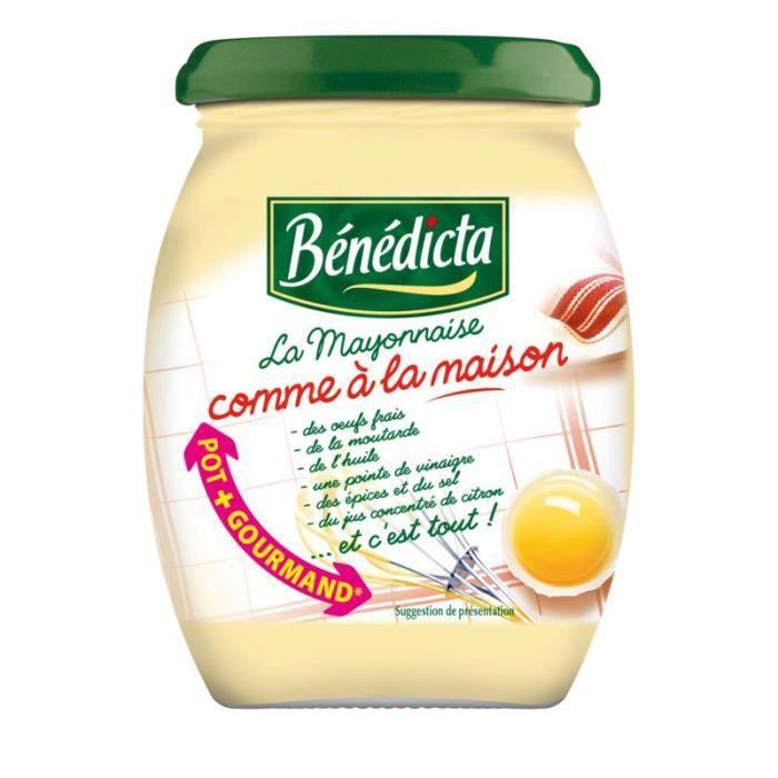 Mayonnaise maison 255 g Bénédicta