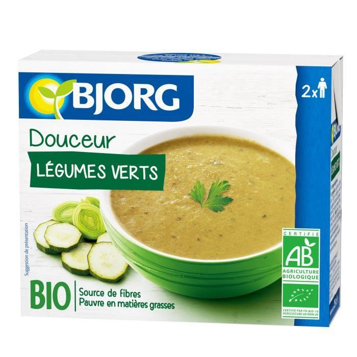 BJORG Régal de légumes verts bio - 2x25 cl