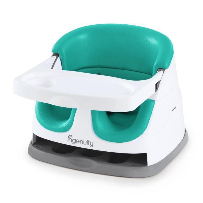 INGENUITY Siège Repas 2-en-1 Baby Base™ - Vert Outremer