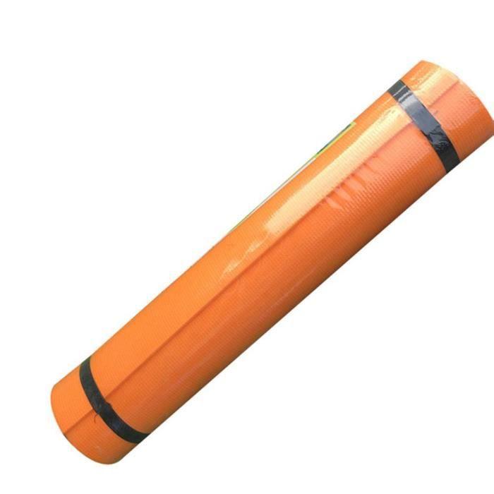 Tapis de yoga en caoutchouc 173*60*0.4cm - Orange