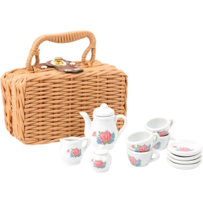 Service à café dans la valise, porcelaine