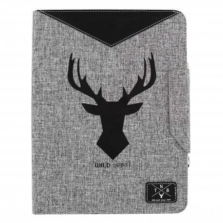 TNB BUNTABWILD - BUNDLE FOLIO WILD - Etui universel tablette 10 pouces + Stylet design