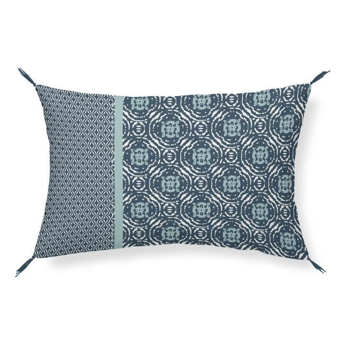 TODAY Coussin 100% coton Imprimé Jakarta Shiva Aruba - 30 x 50 cm