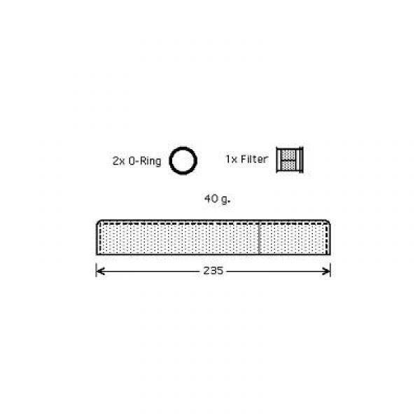 filtre deshydrateur RAV 4, 00-10-05 TOYOTA 8668601-AU35098