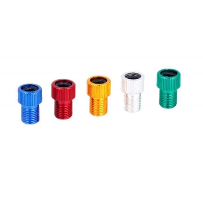 POMPE À VÉLO Adaptateurs de valve - 5 pièces - Adaptateurs de v