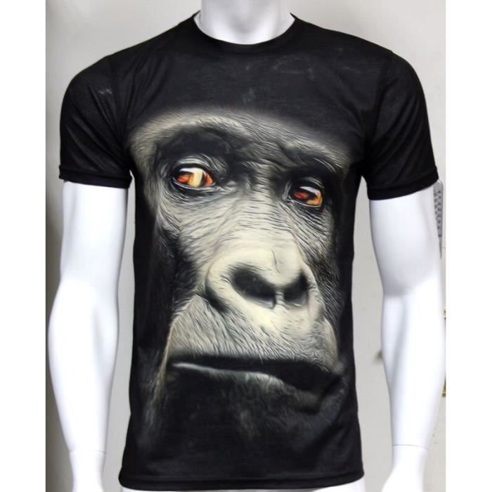 imprimer gorilla t shirt extra extra grande taille achat. Black Bedroom Furniture Sets. Home Design Ideas