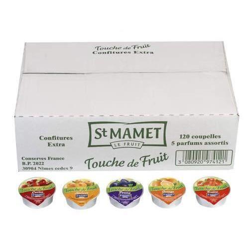 CONFITURE - MARMELADE Confiture de fraise St Mamet 120 x 20 G