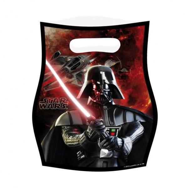 lot de 6 sachets bonbon star wars anniversaire achat vente pochette cadeau cdiscount. Black Bedroom Furniture Sets. Home Design Ideas