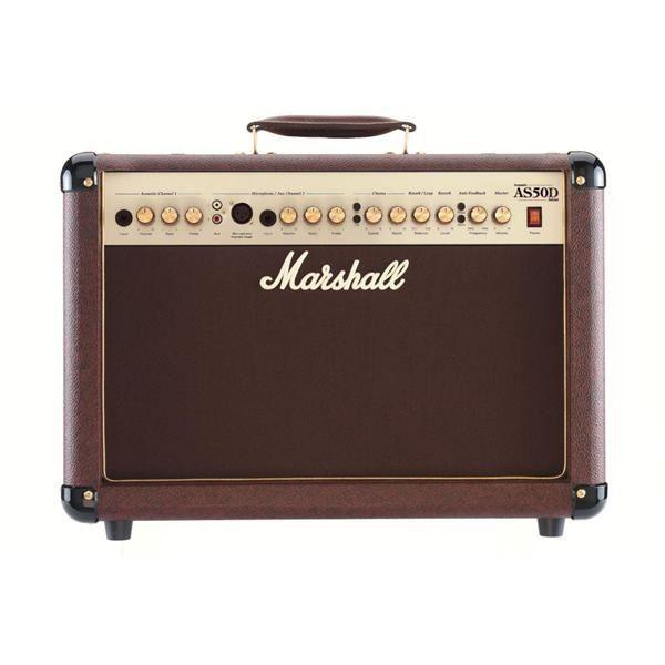 AMPLIFICATEUR Marshall Ampli Guitare Acoustique AS50D