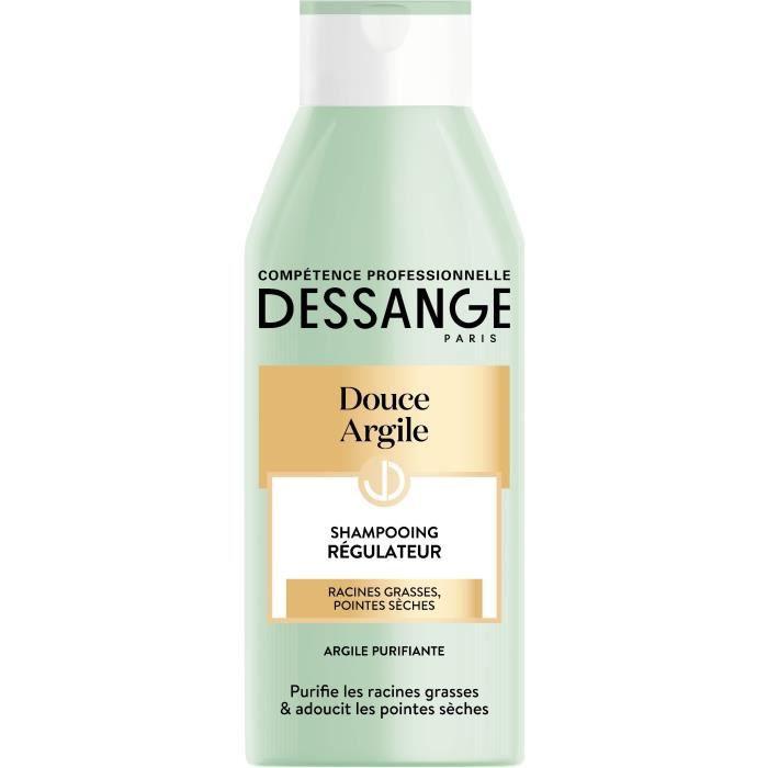 Dessange Shampoing Douce Argile Regulateur Pour Cheveux Secs A