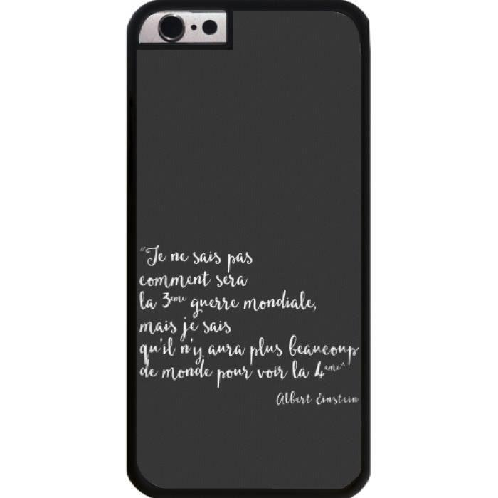 coque iphone 6 phrase citation
