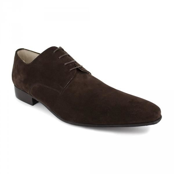 Derby J.Bradford Cuir Marron JB-STEEL - Couleur - Marron 0hYTz2r