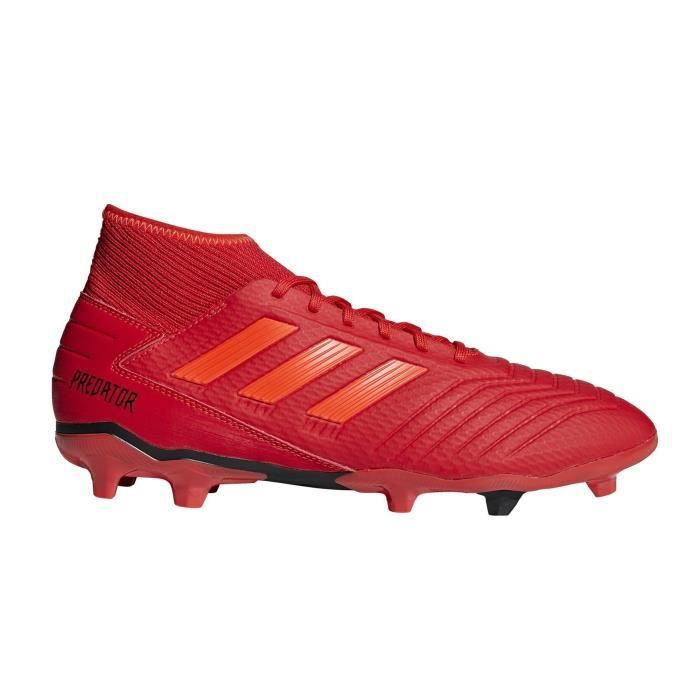 Chaussures football adidas Predator 19.3 FG Rouge