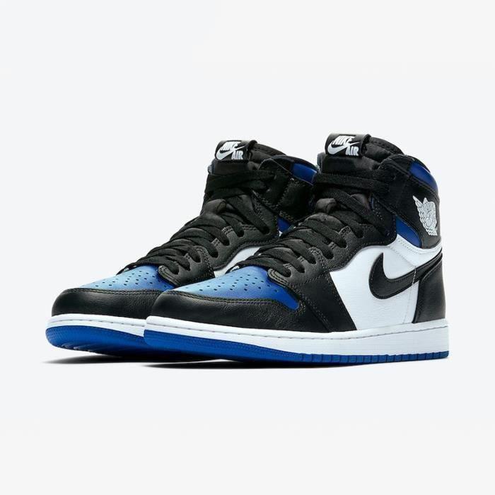 Nike air jordan 1 retro noir et blanc - Cdiscount