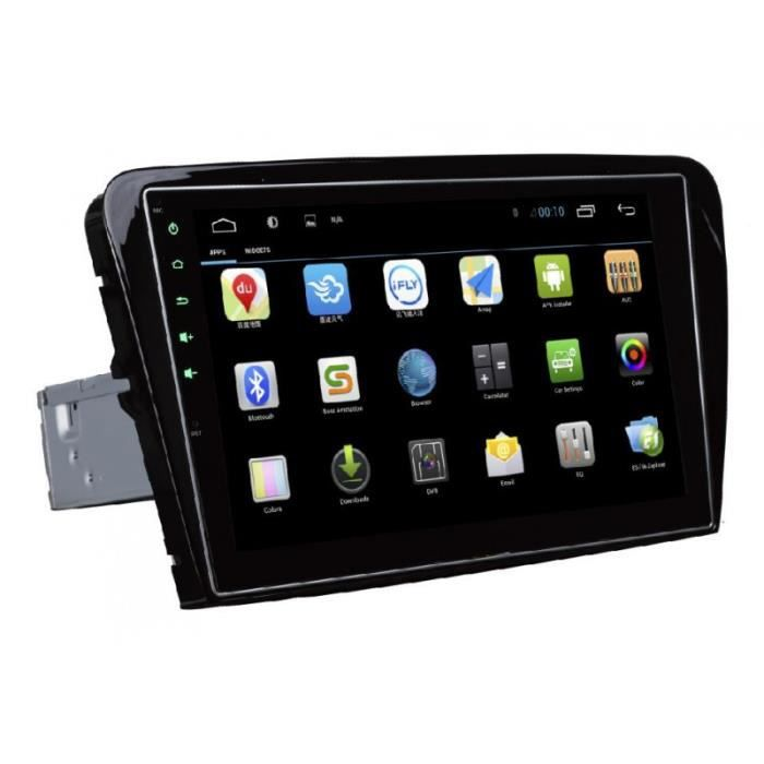 autoradio gps android ecran tactile 10 2 pouce pour skoda octavia a7 2013 2015 achat vente. Black Bedroom Furniture Sets. Home Design Ideas