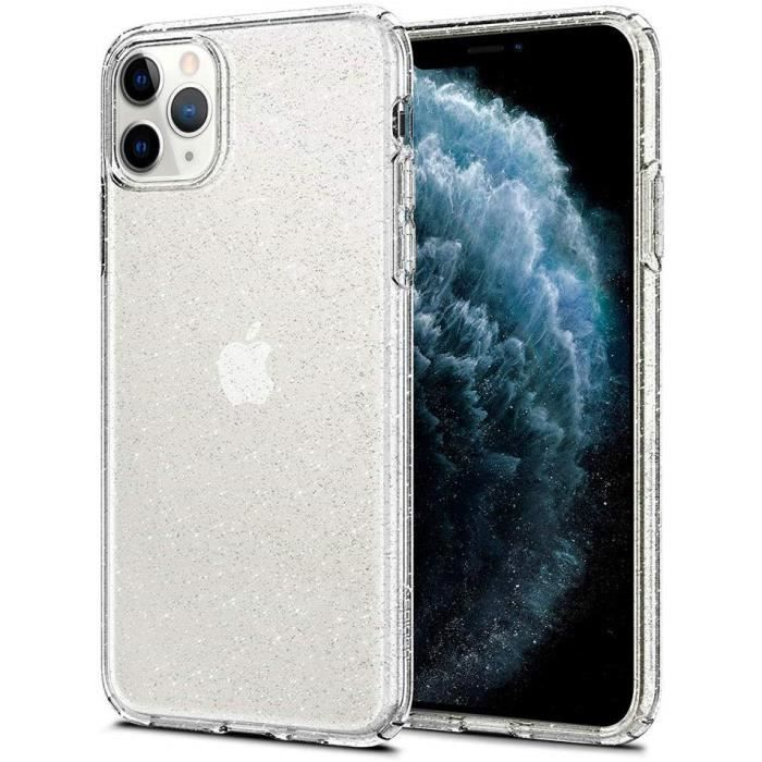 Spigen Coque iPhone 11 Pro [Ultra Hybrid] Bumper Renforcé Anti