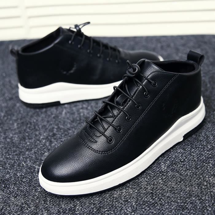 Skateshoes Homme Hiver - automne l'exécution Sneaker antidérapante hommes noir taille40 ChMmM0ohci
